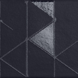 Tone | Black Geometric | Ceramic tiles | Marca Corona