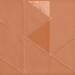 Tone | Orange Geometric | Ceramic mosaics | Marca Corona