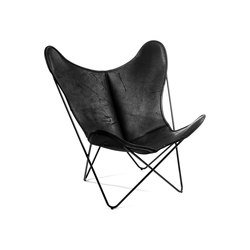 Hardoy | Butterfly Chair | Organic Buffalo Leather Pure Wild | Fauteuils | Manufakturplus