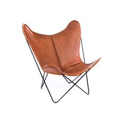 Hardoy | Butterfly Chair | Organic Buffalo Leather Pure Wild | Armchairs | Manufakturplus