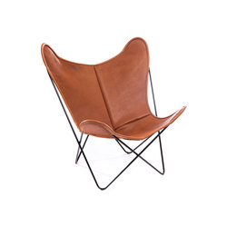 Hardoy | Butterfly Chair | Organic Buffalo Leather | Fauteuils | Manufakturplus