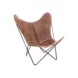 Hardoy | Butterfly Chair | Vintage Leather | Fauteuils | Manufakturplus