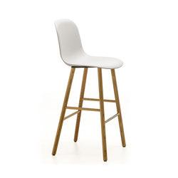 Máni Plastic ST-4WL | Bar stools | Arrmet srl