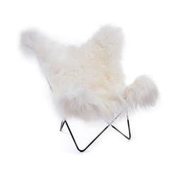 Hardoy | Butterfly Chair | Sheepskin | Poltrone | Manufakturplus