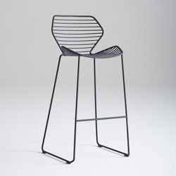 Ginkgo Wire Barstool | Taburetes de bar | Davis Furniture