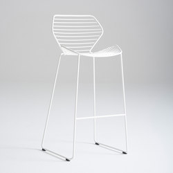 Ginkgo Wire Barstool | Taburetes de bar | Davis Furniture
