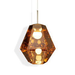 Cut Tall Pendant Gold | Suspended lights | Tom Dixon