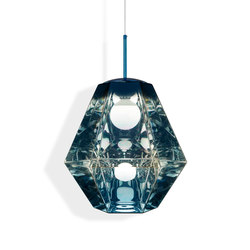 Cut Tall Pendant Blue | Suspended lights | Tom Dixon
