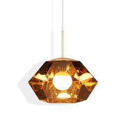 Cut Short Pendant Gold | Suspended lights | Tom Dixon