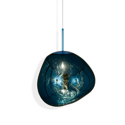 Melt Pendant Blue | Suspended lights | Tom Dixon