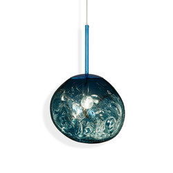 Melt Mini Pendant Blue | Suspended lights | Tom Dixon