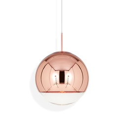 Mirror Ball Pendant Copper 50cm | Pendelleuchten | Tom Dixon