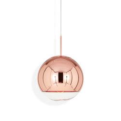 Mirror Ball Pendant Copper 25cm | Pendelleuchten | Tom Dixon