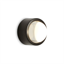 Spot Surface Round Black | Wandleuchten | Tom Dixon