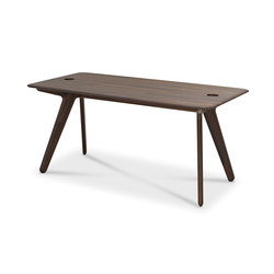 Slab Individual Desk Large Natural Oak | Dining tables | Tom Dixon