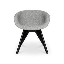 Scoop Chair Low Back Black Leg | Sedie | Tom Dixon