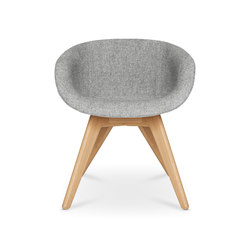 Scoop Chair Low Back Natural Leg | Chairs | Tom Dixon