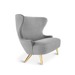 Micro Wingback Sofa Brass Leg Hallingdal 65 | Sofas | Tom Dixon