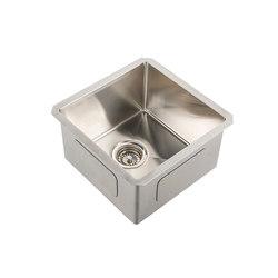 IX304 | Undermount Single Bowl Sink 400X400mm | Éviers de cuisine | BAGNODESIGN