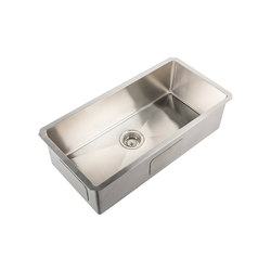 IX304 | Undermount Single Bowl Sink 800X400mm | Kitchen sinks | BAGNODESIGN