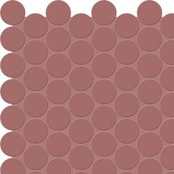 Bold | Marsala Tess. Round | Ceramic mosaics | Marca Corona