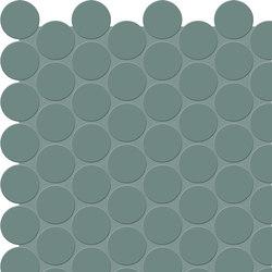 Bold | Sage Tess. Round | Ceramic mosaics | Marca Corona