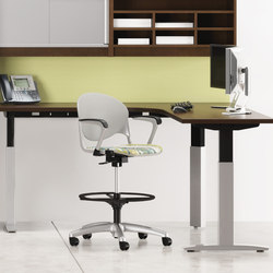 WaveWorks Table | Scrivanie individuali | National Office Furniture