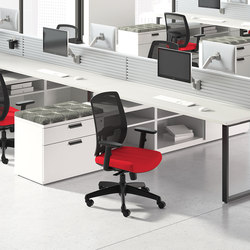 WaveWorks Desk | Bureaux | National Office Furniture