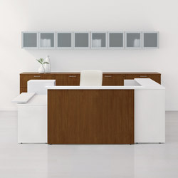 WaveWorks Desk | Counters | National Office Furniture