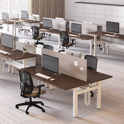 Alloy Desk | Tischsysteme | National Office Furniture