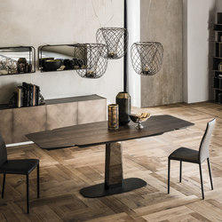 Linus Wood Drive | Dining tables | Cattelan Italia