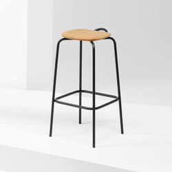 Forcina Stool | MC16 | Taburetes de bar | Mattiazzi