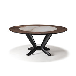 Planer Round Ker-Wood | Dining tables | Cattelan Italia
