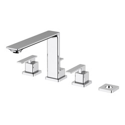 Zephyr | 4 Hole Bath/Shower Mixer | Shower controls | BAGNODESIGN