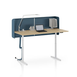 Tyde single tables | Individual desks | Vitra