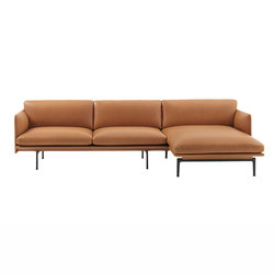 Outline Sofa | Chaise Longue - Right | Canapés | Muuto