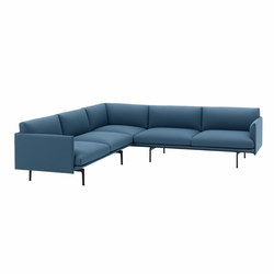 Outline Corner Sofa | Modular seating systems | Muuto