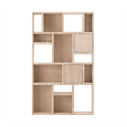 Stacked Storage System | Shelving | Muuto