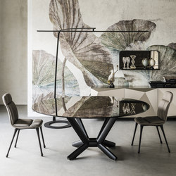 Planer Round | Dining tables | Cattelan Italia
