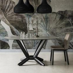 Planer Round Keramik | Esstische | Cattelan Italia