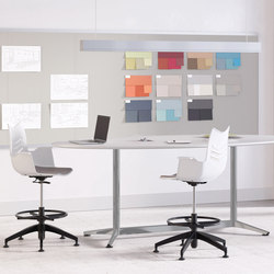 Footings Collaboratice Tables | Tavoli alti | National Office Furniture