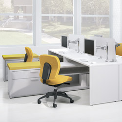 Renegade Desk | Einzeltische | National Office Furniture
