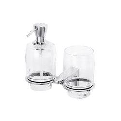 Amarilo Combined soap dispenser and glass holder | Soap dispensers | Bodenschatz