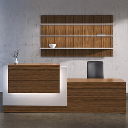Tessera Desk | Theken | National Office Furniture
