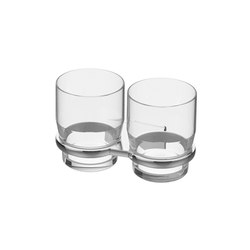 Chic 14 Double glass holder | Toothbrush holders | Bodenschatz