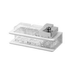 Creativa Double glass holder and soap dispenser   Soap dispensers   Bodenschatz