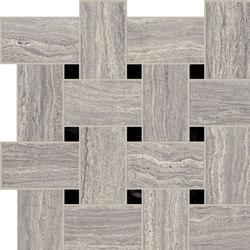 Motif Extra | Travertino Silver Tess.Treccia Reflex | Ceramic tiles | Marca Corona