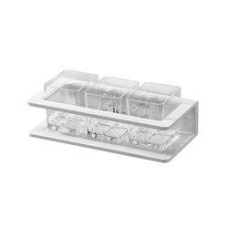 Creativa Glass holder, triple | Toothbrush holders | Bodenschatz