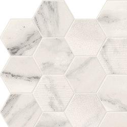 Motif Extra | Calacattasilver Hexagone Tessere | Piastrelle ceramica | Marca Corona