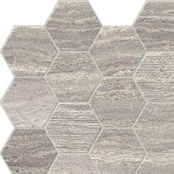 Motif Extra | Calacattasilver Hexagone Tessere | Keramik Fliesen | Marca Corona
